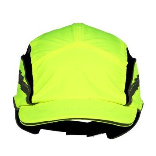 3M™ First Base™ 3 Classic HV Anstoßkappe, gelb fluoreszierend