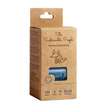 TSP Recycling Hundekotbeutel, blau, 23 x 35 cm