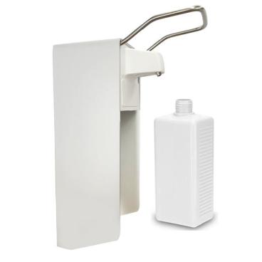 Manueller Aluminium Desinfektionsmittelspender, Wandspender