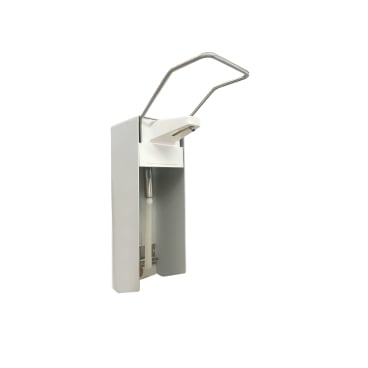 Manueller Aluminium Handdesinfektionsmittelspender, Wandspender