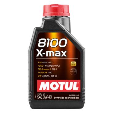 Motul 8100 X-max 0W40 Motorenöl