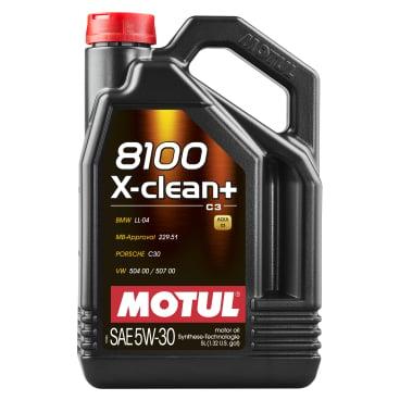 Motul 8100 X-clean+ 5W-30 Motorenöl