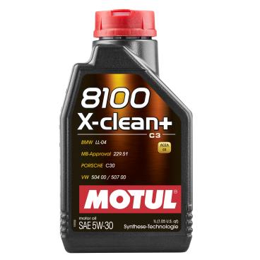 Motul 8100 X-Clean 5W40 Motorenöl