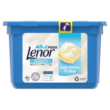 Lenor All-in-1 PODS Sensitiv Waschmittel