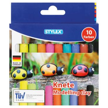 STYLEX® Knete Modelliermasse, bunt