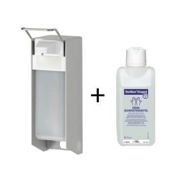 Sterillium® Virugard Händedesinfektionsmittel 500ml + Spender