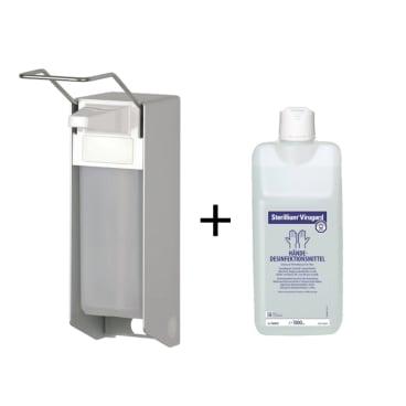 Sterillium® Virugard Händedesinfektionsmittel 1000ml + Spender
