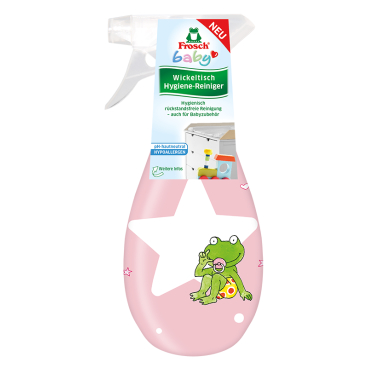 Frosch Baby Wickeltisch Hygiene-Reiniger, 400 ml