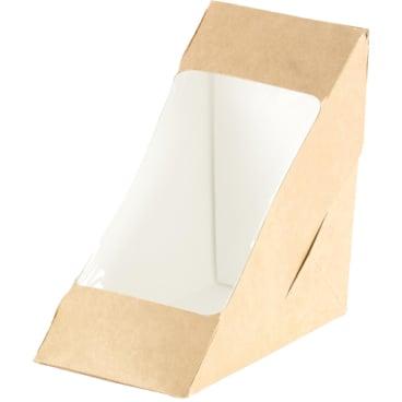 DUNI ecoecho™ Sandwich-Box Bio doppelt, 3-eckig