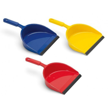 Kehrschaufel Kunststoff, farbig sortiert