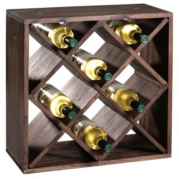 Kesper Weinflaschen-Regalsystem
