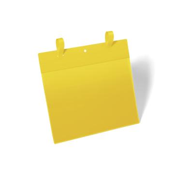 DURABLE Gitterboxtaschen mit Lasche, gelb
