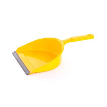 Kehrschaufel Kunststoff, farbig sortiert mit Lippe