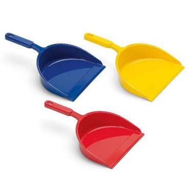 Kehrschaufel Kunststoff, farbig sortiert ohne Lippe