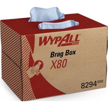 WYPALL X80 Wischtücher, stahlblau