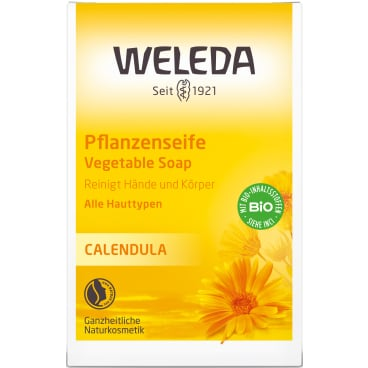 Weleda Calendula-Pflanzenseife