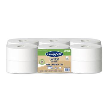 BulkySoft® Mini Jumbo Toilettenpapier, 2-lagig, weiß