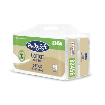 BulkySoft® Comfort Papier-Falthandtuch Z-Falz, 2-lagig