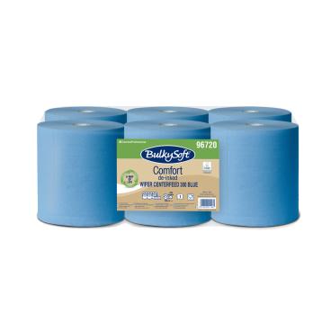 BulkySoft® Comfort Wischtuchrolle mit Zentralentnahme, 1-lagig