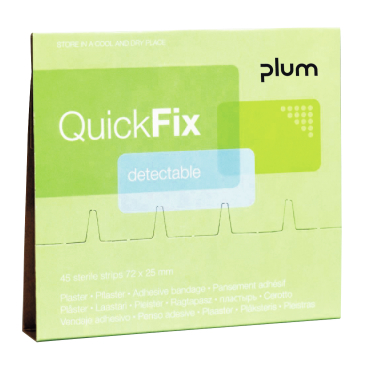 Plum QuickFix Detectable Pflaster