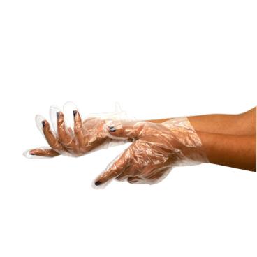 Pano Einweg HDPE-Handschuhe, transparent
