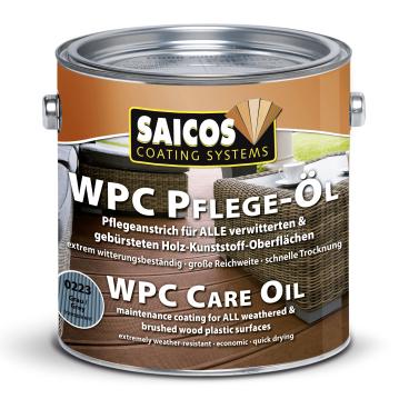 SAICOS WPC Pflege-Öl, grau transparent