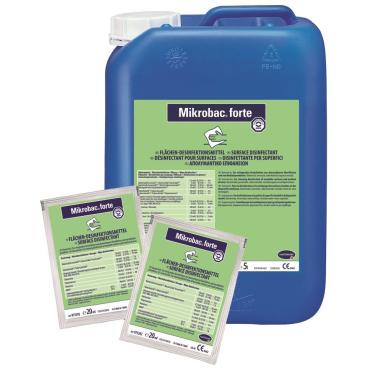 Bode Mikrobac® forte Desinfektionsreiniger 1 Karton = 250 x 20 ml - Dosierbeutel