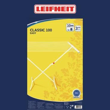 LEIFHEIT Classic 100 Easy Standtrockner  Maße (H x B x T): 93 x 102 x 52 cm