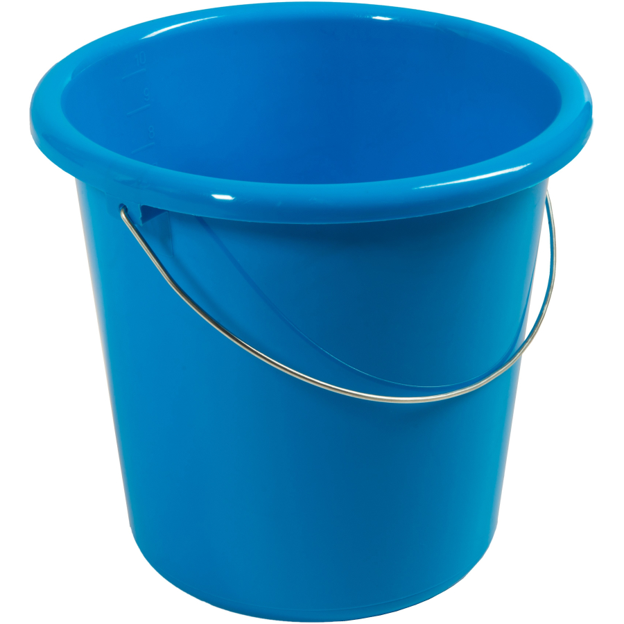haushaltseimer 10 liter blau online kaufen. Black Bedroom Furniture Sets. Home Design Ideas