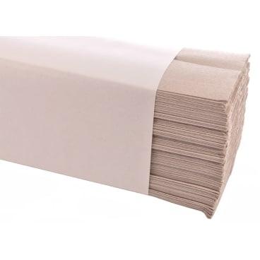 Papierhandtücher 25 x 33 cm, 1-lagig 1 Karton = 3.600 Blatt, naturweiß