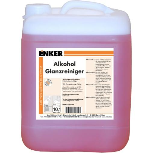 Linker Alkohol-Glanzreiniger
