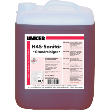 Linker H4S-Sanitär Grundreiniger