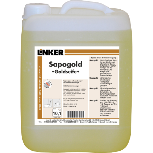 Linker Sapogold Goldseife