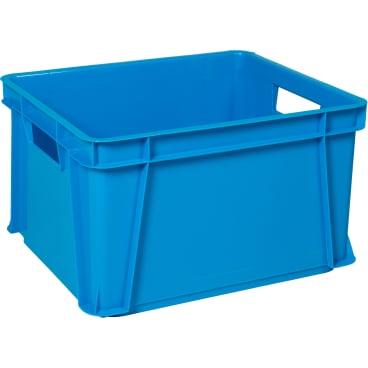 Teko Uni Stapelbox Kunststoff Blau Online Kaufen Hygi De