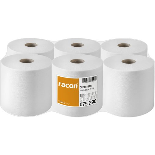 racon® premium Handtuchrollen 20 cm x 140 m, 2-lagig, hochweiß