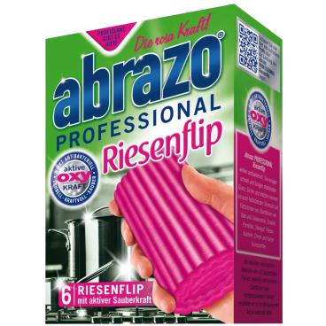 abrazo PROFESSIONAL Riesenflip Reinigungspads