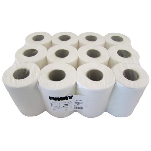 Handtuchpapier Rolle, 20 cm, 1 lagig, hochweiß