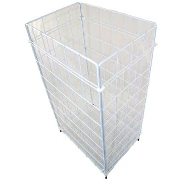 Abfallkorb / Papierdrahtkorb, zusammenlegbar, 255 x 620 x 360 mm