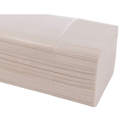 Papierhandtuch, 25x23 cm, 1-lagig, hochweiß