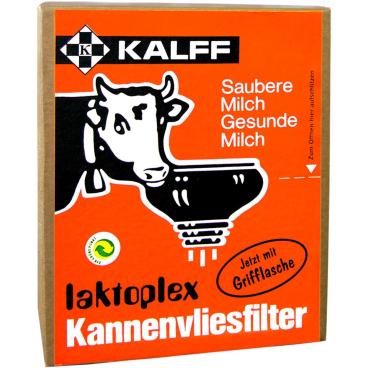 Kalff Laktoplex - Kannenvliesfilter-Scheiben