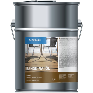 Dr. Schutz®  Terrassenöl Bangkirai, Dunkel