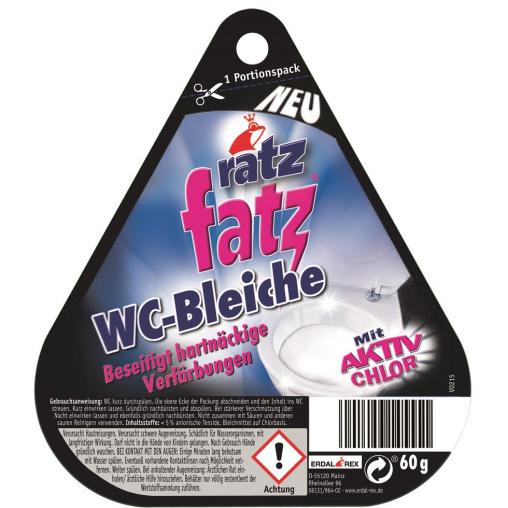 ratz fatz WC-Bleiche, mit Aktiv Chlor