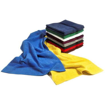 MEGA Clean Professional Baumwoll-Waschhandschuh, 15 x 21 cm 1 Packung = 6 Stück, Farbe: kobalt