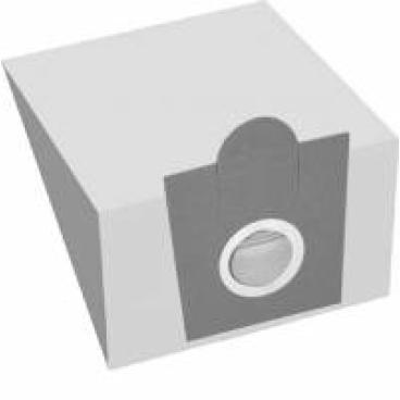 Staubsaugerbeutel S 11 1 Packung = 5 Stück, 1 Mikrofilter