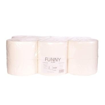Papierhandtuch-Rolle, 2-lagig, hochweiß