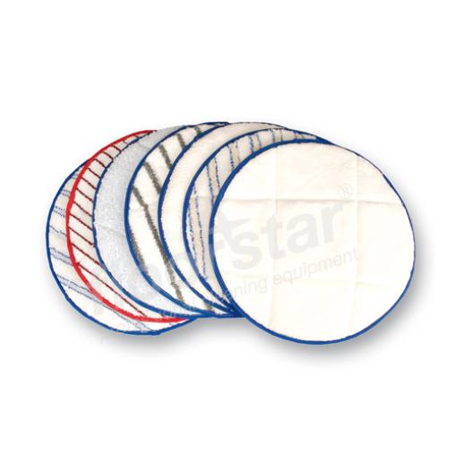 """Floorstar Microfaserpads Durchmesser 13"""" / 330 mm"""