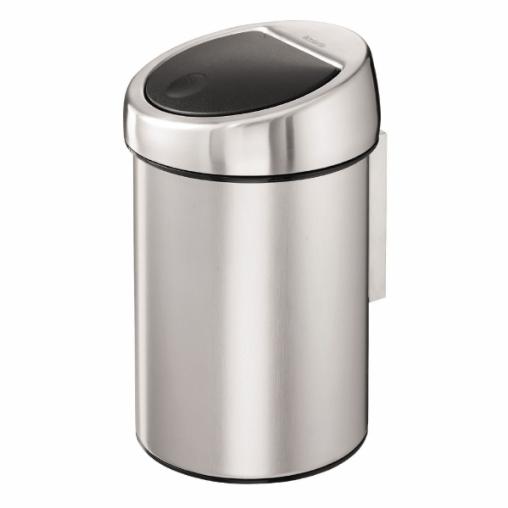 Brabantia NEWICON Touch Bin Wand-Abfallbehälter, 3 l