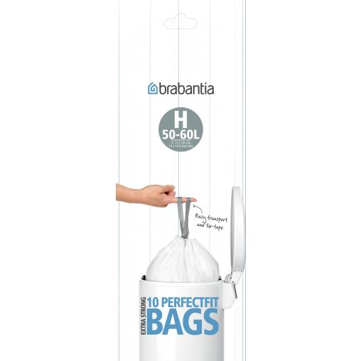 Brabantia (H) Müllbeutel, 50-60 Liter