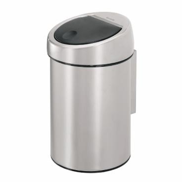 Brabantia NEWICON Touch Bin Wand-Abfallbehälter, 3 Liter