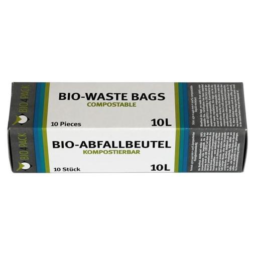 Bio4Pack Abfallbeutel 100% kompostierbar, 10 Liter
